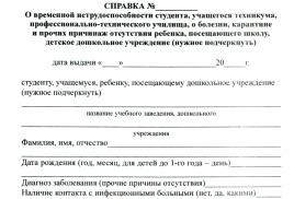 Справка Формы 095/у о временной нетрудоспособности купить Красноярск